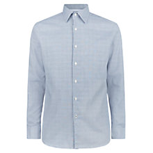 Buy Aquascutum Tobias Check Shirt, Light Blue Online at johnlewis.com