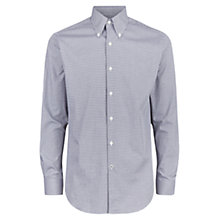 Buy Aquascutum Leven Check Shirt, Brown Online at johnlewis.com
