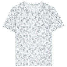 Buy Reiss Faze Printed T-Shirt, White Online at johnlewis.com