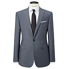 Buy Richard James Mayfair Blue Slim Fit Suit Jacket, Slate Online at johnlewis.com