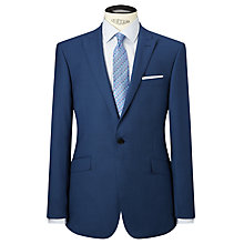 Buy Richard James Mayfair Sharkskin Wool Slim Fit Suit Jacket, Indigo Online at johnlewis.com