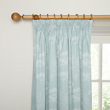 Buy John Lewis Cow Parsley Blackout Lined Pencil Pleat Curtains Online at johnlewis.com