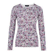 Buy Viyella Ditsy Merino Jumper, Multi Online at johnlewis.com