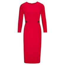 Buy Viyella Ponte Dress, Red Online at johnlewis.com