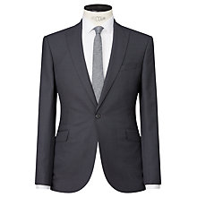 Buy Kin by John Lewis Farley Birdseye Slim Fit Suit Jacket, Graphite Online at johnlewis.com