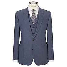 Buy JOHN LEWIS & Co. Talbot Milled Crossweave Tailored Suit Jacket, Blue Online at johnlewis.com