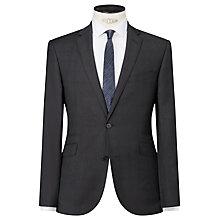 Buy Kin by John Lewis Niton Tonal Check Slim Fit Suit Jacket, Charcoal Online at johnlewis.com