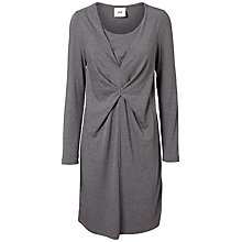 Buy Mamlicious Zelma Tess Maternity Nursing Dress, Grey Melange Online at johnlewis.com
