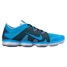 Buy Nike Zoom Fit Agility 2 Women's Cross Trainers, Blue Lagoon/Copa Online at johnlewis.com