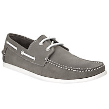 Buy Kin by John Lewis Suede Boat Shoes Online at johnlewis.com