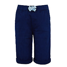 Buy John Lewis Boys' Elasticated Chino Shorts, Blue Online at johnlewis.com
