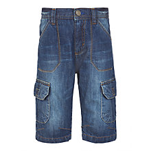 Buy John Lewis Boys' Denim Shorts, Denim Online at johnlewis.com