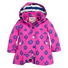 Buy Hatley Girls' Splash Jacket, Fuchsia Online at johnlewis.com