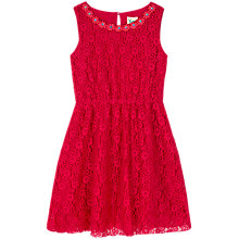 Buy Yumi Girl Daisy Gems Lace Dress Online at johnlewis.com