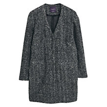 Buy Violeta by Mango Mohair Wool Blend Coat, Grey Online at johnlewis.com