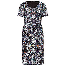 Buy Sugarhill Boutique Gayna Spot Shift Dress, Black/White Online at johnlewis.com