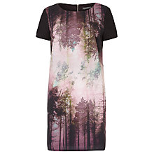 Buy Sugarhill Boutique Amelia Woodland Tunic Dress, Black/Multi Online at johnlewis.com