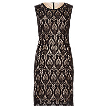 Buy Sugarhill Boutique Beatrix A-line Dress, Black/Taupe Online at johnlewis.com
