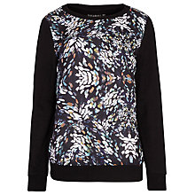 Buy Sugarhill Boutique Gloria Blur Spot Jumper, Black Online at johnlewis.com