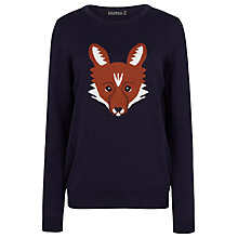 Buy Sugarhill Boutique Nita Fox Jumper, Navy Online at johnlewis.com