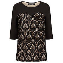 Buy Sugarhill Boutique Annora Lace Top, Black/Nude Online at johnlewis.com