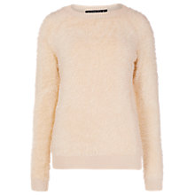 Buy Sugarhill Boutique Nora Fluffy Jumper, Cream Online at johnlewis.com