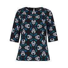 Buy Sugarhill Boutique Louise Tapestry Feather Top, Multi Online at johnlewis.com