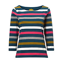 Buy White Stuff Buttercup Stripe Tee, Multi Online at johnlewis.com