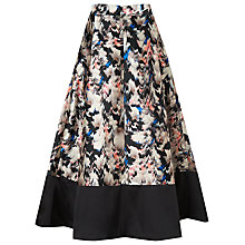 Buy L.K. Bennett Juana Wrap Skirt, Multi Online at johnlewis.com