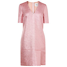 Buy L.K. Bennett Thulani Lurex Dress, Pink Online at johnlewis.com