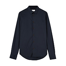 Buy Jigsaw Indigo Poplin Slim Shirt, Indigo Online at johnlewis.com