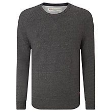 Buy Levi's Original Crew Neck Jumper, Grey Online at johnlewis.com