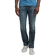 Buy Levi's 511 Antarctic Slim Jeans, Worn In Green Cast Online at johnlewis.com