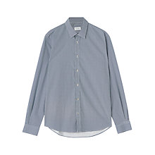 Buy Jigsaw Spot Print Cotton Long Sleeve Shirt Online at johnlewis.com