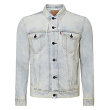 Buy Levi's The Trucker Denim Jacket, Flushed Online at johnlewis.com