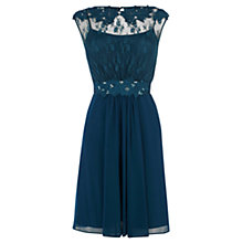 Buy Coast Lori Short Dress, Kingfisher Online at johnlewis.com