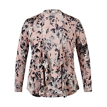 Buy Chesca Rose Print Shrug, Powder Pink Online at johnlewis.com