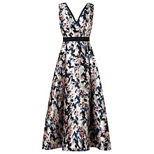 Buy L.K. Bennett Printed Juana Wrap Dress, Multi Online at johnlewis.com