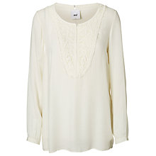 Buy Mamalicious Ella Lia Long Sleeve Maternity Nursing Top, Moonbeam Online at johnlewis.com