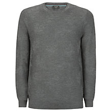 Buy Ted Baker Feelix Jacquard Merino Wool Jumper, Grey Online at johnlewis.com