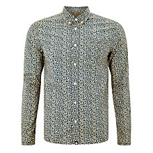 Buy Pretty Green Liberty Print Tayton Shirt, Blue Online at johnlewis.com