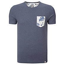 Buy Pretty Green Partridge Leaf Pocket T-Shirt Online at johnlewis.com