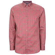 Buy Ted Baker Dyamond Diamond Print Shirt Online at johnlewis.com