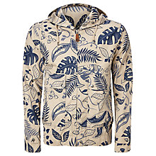 Buy Pretty Green Printed Wren Jacket, Blue/Cream Online at johnlewis.com