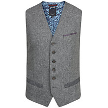 Buy Ted Baker Illiwai Waistcoat, Grey Online at johnlewis.com