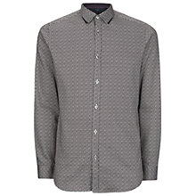 Buy Ted Baker Scatter Leaf Print Shirt Online at johnlewis.com