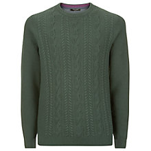 Buy Ted Baker Spekta Cable Knit Jumper Online at johnlewis.com