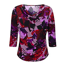 Buy Kaliko Printed Jersey Top, Multi Online at johnlewis.com