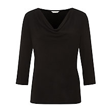 Buy Kaliko Solid Cowl Top, Multi/Brown Online at johnlewis.com