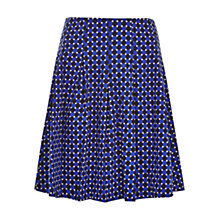 Buy Louche Tarsha Geo Print Skirt, Navy Online at johnlewis.com